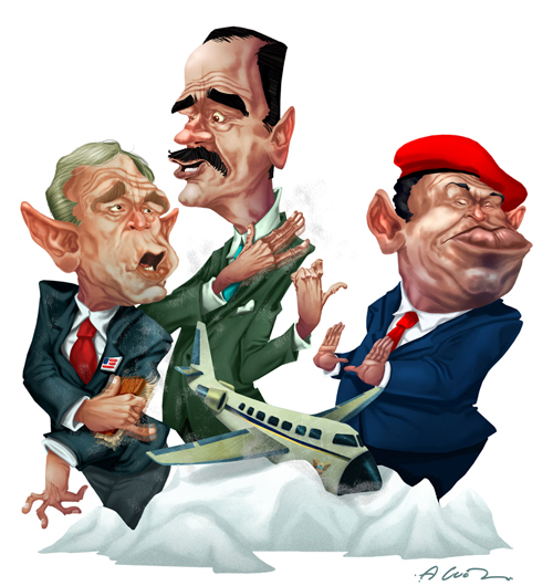 Bush-Fox-Chavez