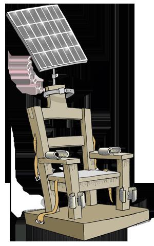 Against The Death Penalty Cartoon Movement