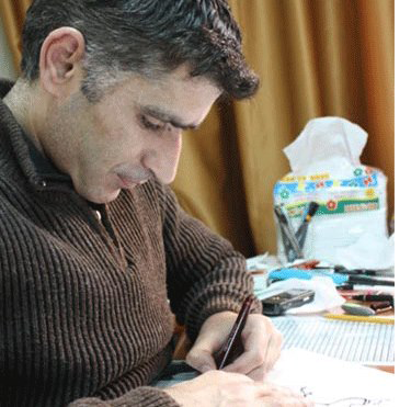 A Brave Cartoonist is Murdered by the Syrian Regime cartoons