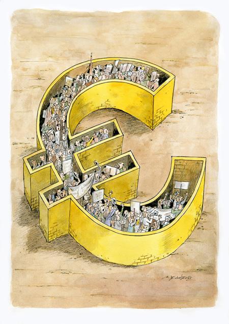De Angelis- Euro wall