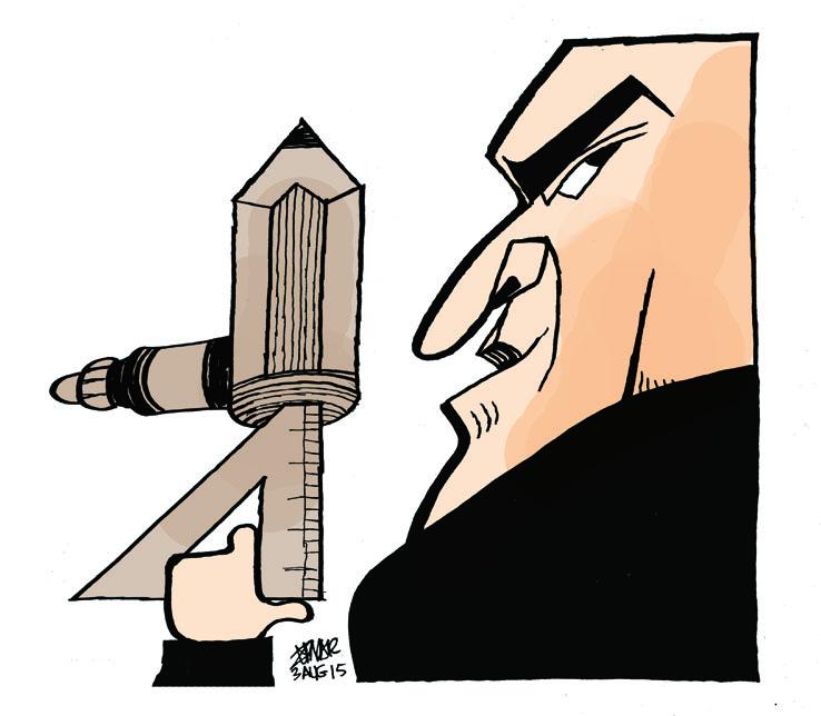 PORTRAIT © Zunar (Malaisie) - Cartooning for Peace