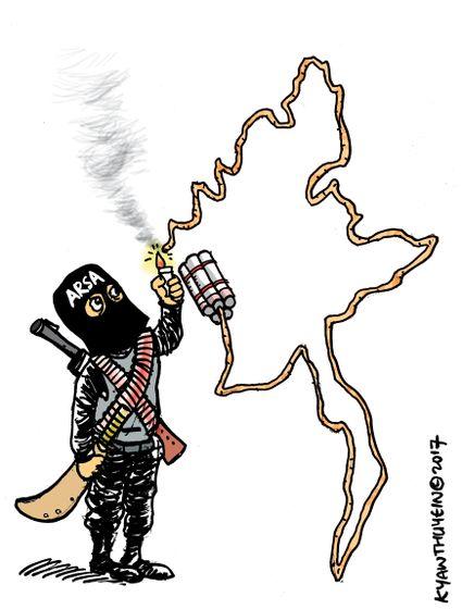 Myanmar_under_terrorists_attack__kyaw_thu_yein