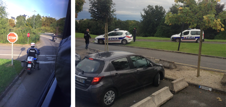Security in Caen