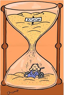 DESSIN INCRIMINE © Tahar Djehiche (Algérie) - Cartooning for Peace