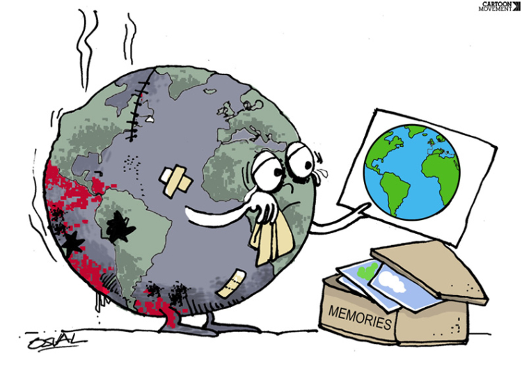 Earth day in 10 cartoons cartoon movement memoriesosvaldogutierrezgomez ccuart Image collections