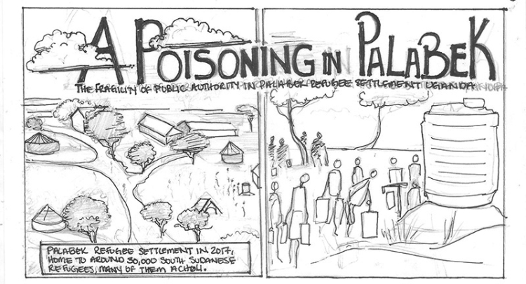 Poisoning in Palabek - storyboard