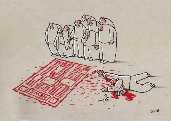 Dutch cartoonist Tom Janssen wins the second edition of the European Cartoon Award